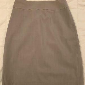 Banana Republic Gray Pencil Skirt Size 0